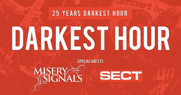 Misery Signals and Darkest Hour