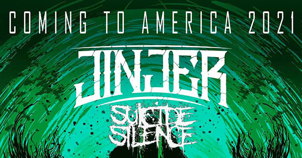 Jinjer and Suicide Silence tour 2021