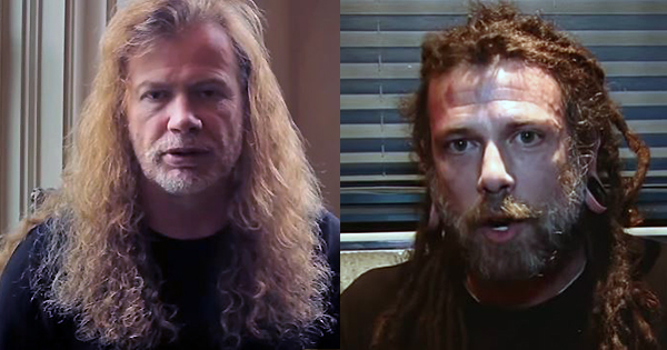 Dave Mustaine and Chris Barnes go at it