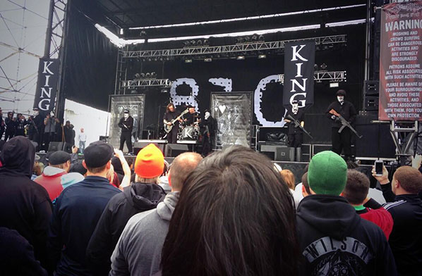 King 810 gunning for audience