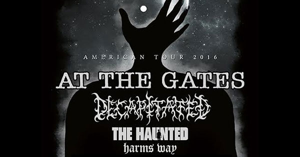 At The Gates Decapitated Haunted Harm's Way tour dates