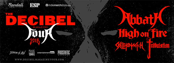 Decibel Tour with Abbath, High On Fire, Skeletonwitch