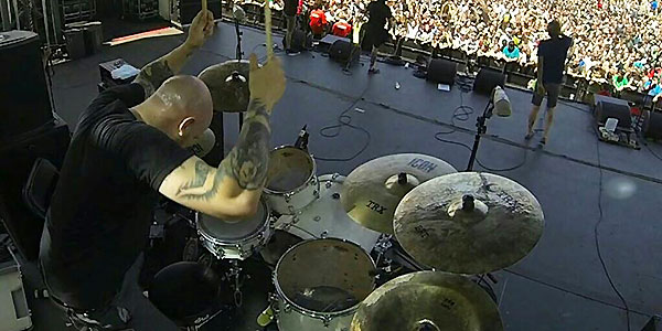 Brad Moxey of Evergreen Terrace