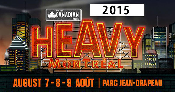 Heavy Montreal 2015 lineup