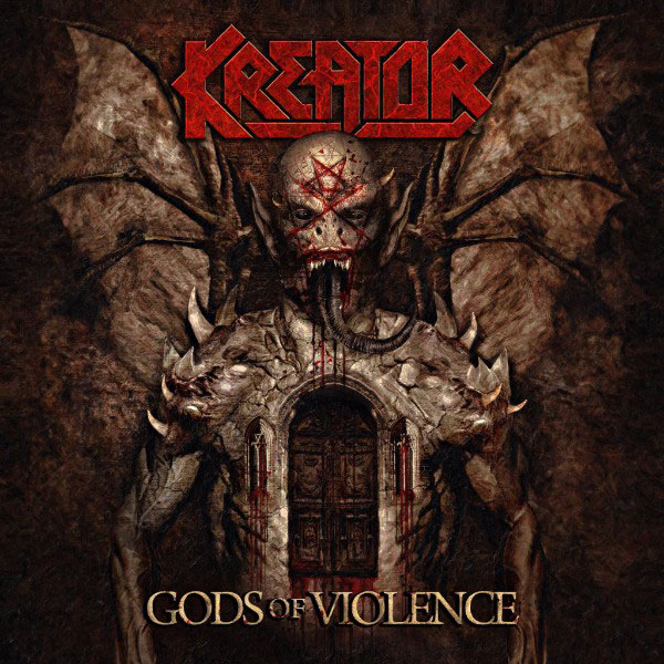 Kreator - Gods of Violence cover