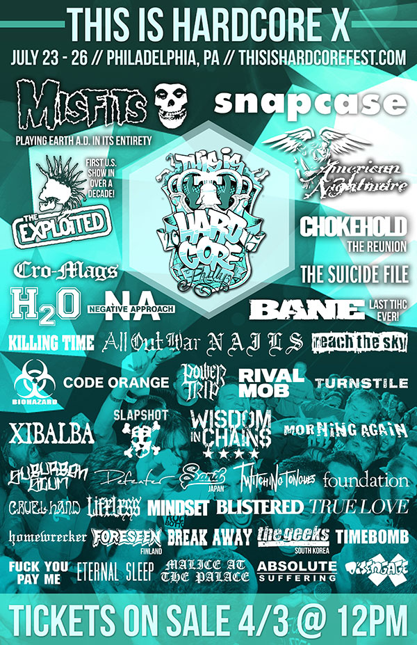 This Is Hardcore 2015 flyer