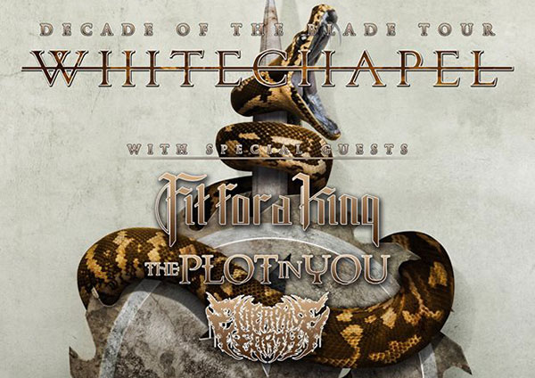 Whitechapel announce tour with Fit For A King