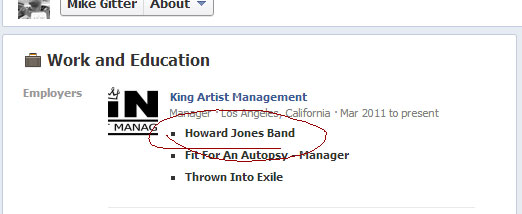 Howard Jones Band